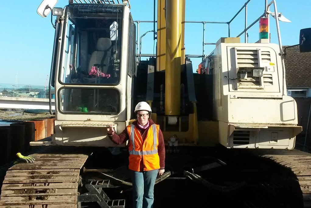 Fiona Crozier achieves her 4th Plant Operations NVQ with CADUK through our unique e-assessment route