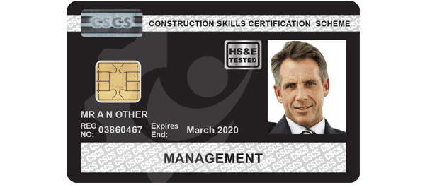 CSCS Black Manager Card