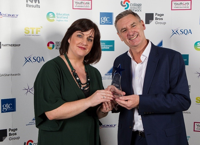 CADUK Receive SQA Star Award